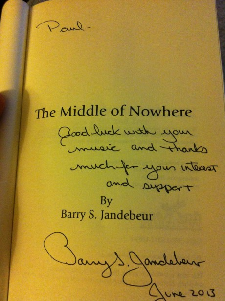 Barry signed copy